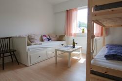 Familieværelse, 1-4 personer (prisen er pr. værelse)